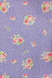 Cloth texture. Flower pattern cloth texture background Stock Photo
