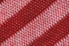 Cloth texture red pink Royalty Free Stock Photography