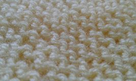 Cloth wool yellow tissue texture details royalty free stock image