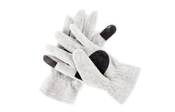 Cloth work gloves Stock Image