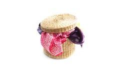 Clothe basket Royalty Free Stock Photo