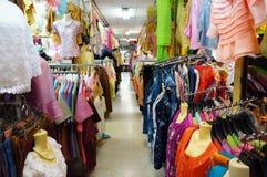 Clothers商店 免版税库存图片