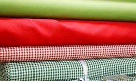 Clothes. A many colors clothes at shop Stock Photos