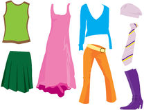 Clothes Royalty Free Stock Image