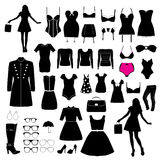 Clothes and accessory Royalty Free Stock Image