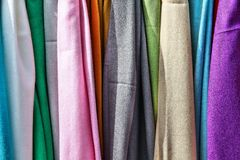 Clothes background Royalty Free Stock Photos