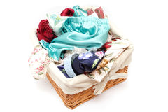 Clothes-basket Royalty Free Stock Photo