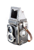 Old twin lens reflex camera Royalty Free Stock Photo