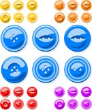 Clothes Buttons Stock Image