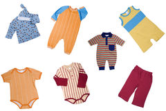 Clothes for child Stock Photos