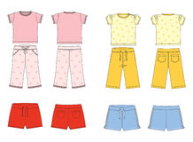 Clothes for children Royalty Free Stock Image