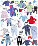 Clothes for children Royalty Free Stock Images