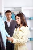 Clothes choice Stock Photos
