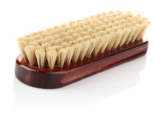 Clothes cleaning brush. On white background Royalty Free Stock Images