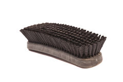 Clothes cleaning brush Stock Photography