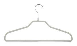 Clothes coat hanger isolated Royalty Free Stock Photos