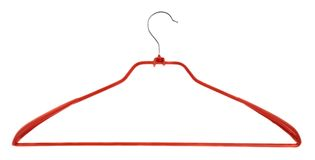 Clothes coat hanger isolated Royalty Free Stock Photo