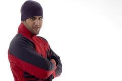 clothes cool guy winter Στοκ εικόνες με δικαίωμα ελεύθερης χρήσης