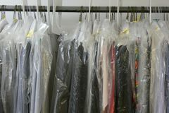 Dry Cleaning Stock Illustration