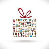 Clothes gift sale Royalty Free Stock Photo