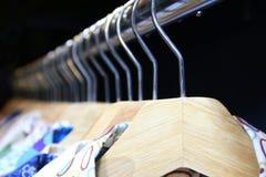 Clothes hang Stock Photos