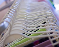 Clothes hanger 2 Royalty Free Stock Images