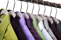 Clothes on a hanger Royalty Free Stock Image