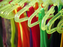 Clothes hanger Royalty Free Stock Image