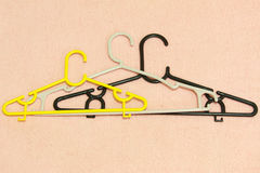 The Clothes hanger of Family Royalty Free Stock Image