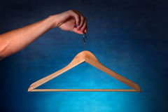 Clothes Hanger Stock Photo