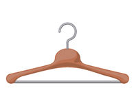 Clothes hanger hook isolated icon design Stock Images
