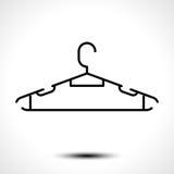 Clothes hanger icon Royalty Free Stock Photos