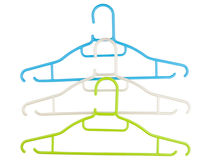 Clothes hanger isolated Royalty Free Stock Photos