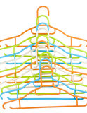 Clothes hanger isolated Royalty Free Stock Photo