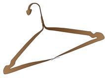 Clothes hanger - snake Royalty Free Stock Photos