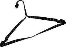Clothes hanger - snake Royalty Free Stock Photography
