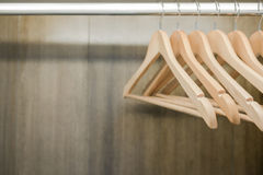 Clothes hanger Stock Images