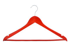 Clothes hangers Stock Images
