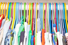 Clothes hangers Royalty Free Stock Photo