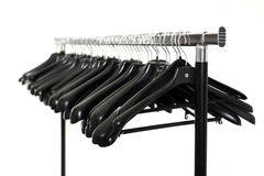 Clothes hangers Royalty Free Stock Photos