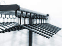 Clothes hangers Royalty Free Stock Image
