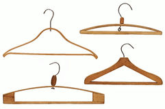 Clothes hangers set Royalty Free Stock Photography