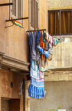 Clothes hanging on air,Cairo,Egypt. Stock Images