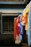 Clothes Hanging Laundry, Africa Royalty Free Stock Image