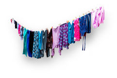 Free Clothes Hanging To Dry Stock Image - 37174721