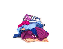 Clothes heap Stock Images