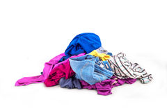 Clothes heap Royalty Free Stock Photography