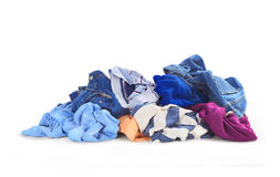 Clothes heap Stock Photography