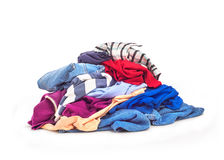 Clothes heap Royalty Free Stock Images