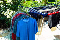 Clothes horse Royalty Free Stock Photography
